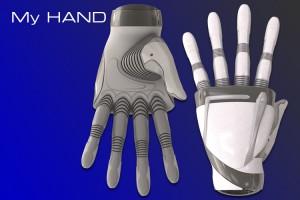 Disabili DOC – My-HAND, veduta del dorso e del palmo della mano