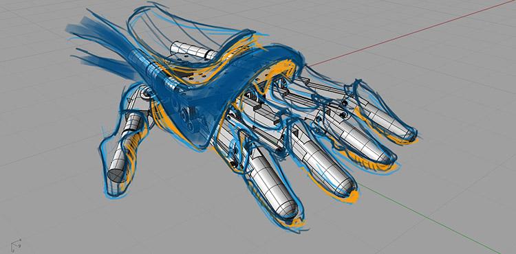 """Disabili DOC – My-HAND, un rendering mostro come potrebbe svilupparsi il progetto """"My-HAND"""""""