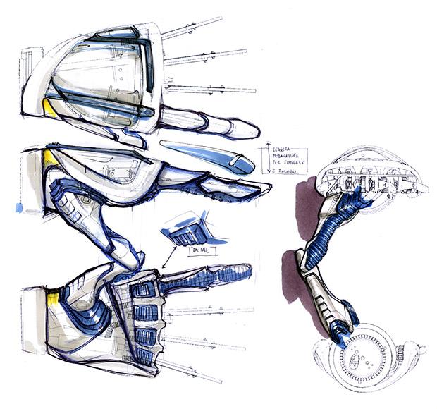 Disabili DOC – My-HAND, l'idea passa attraverso i primi bozzetti