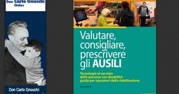 """Disabili DOC – Fondazione Don Carlo Gnocchi Onlus, Copertina dell'8º quaderno redatto dal SIVA dal titolo """"Valutare, consigliare, prescrivere gli Ausili"""""""