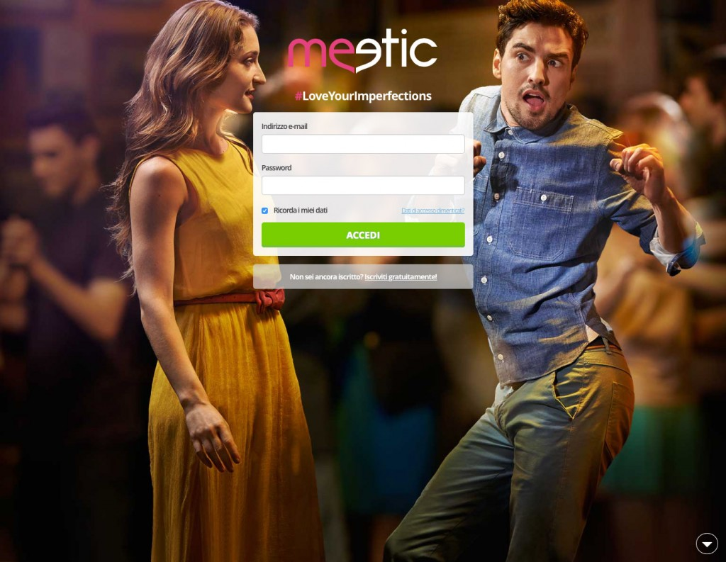 Disabili DOC – Meetic, #LoveYourImperfections