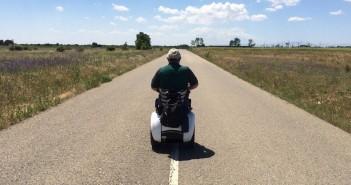 Disabili DOC – Genny 2.0 di Genny Mobility, il Sig. Roberto Moretti a cavallo della sua Genny verso Santiago de Compostela