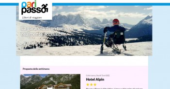 Disabili DOC – Paripasso.it, screenshot della home page