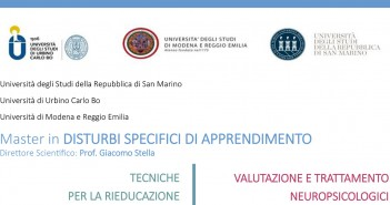 "Disabili DOC – Disturbi apprendimento – Master in ""Disturbi Specifici di Apprendimento – DSA"""