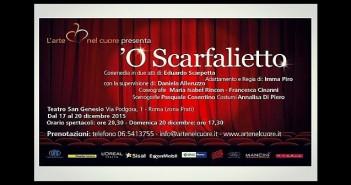Disabili DOC L'Arte nel Cuore, invito a teatro: 'O Scarfalietto