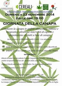 """Disabili DOC – Locandina """"Giornata della canapa"""""""
