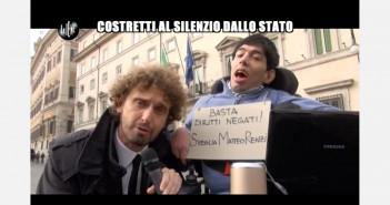 Disabili DOC – Le Iene, servizio di Filippo Roma. Immagine tratta dal video