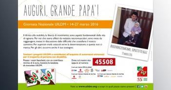 """Disabili DOC – Giornata Nazionale UILDM, 14-27 marzo 2016, per la """"Festa del Papa"""""""
