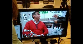 Disabili DOC – Marco Rocca durante un'intervista televisiva