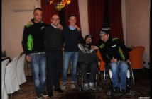 """Disabili DOC – Maximilian Sontacchi con parte del team del progetto """"Ri-mettiamoci in moto"""""""