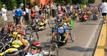 Disabili DOC – Evento Handbike, immagine di repertorio