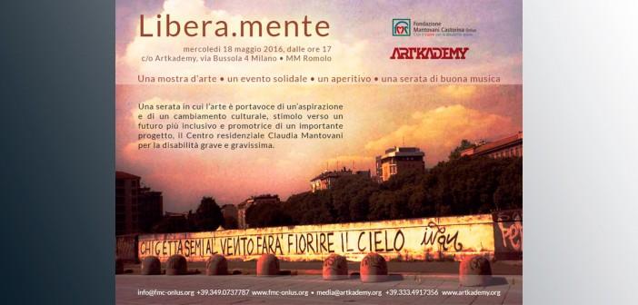 """Arte, giornalismo e musica sostengono la Fondazione Mantovani Castorina """"Libera.mente"""""""