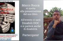 Disabili DOC – Disabili DOC Sarà parteciperà alla presentazione del libro di Marco Rocca
