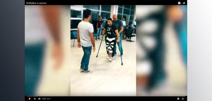 """Disabili protagonisti del proprio """"camminare"""" grazie all'esoscheletro ReWalk"""