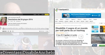 Disabili DOC – Operazione culturale: «#SeDiventassiDisabileAncheIo?»