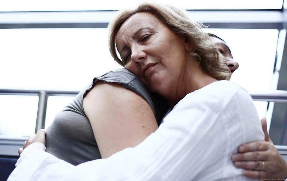 """Disabili DOC – Eleonora Goio e le """"Diverse Abilità"""" – Io, Eleonora, durante un abbraccio Flux"""