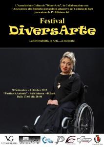 """Disabili DOC – Eleonora Goio e le """"Diverse Abilità"""" – Locandina Festiva DiversArte"""