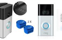 Disabili DOC –Ring Video Doorbell 2 + Ring Chime + Support angolare per videocitofono + Shelly 1 = maggiore autonomia per i Disabili