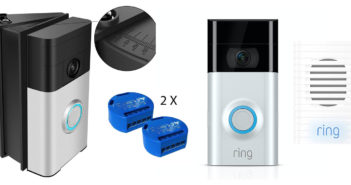 Disabili DOC –Ring Video Doorbell 2 + Ring Chime + Support angolare per videocitofono + Shelly 1 = maggiore autonomia per i Disabili