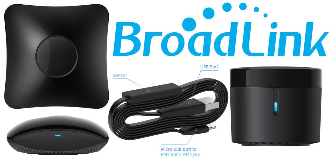 Disabili DOC – Immagine di copertina per i prodotti BroadLink RM4 mini, RM4 Pro e HTS2 Sensor Accessory