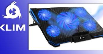 Disabili DOC – KLIM Cyclone, raffreddatole a ventole per computer portatili