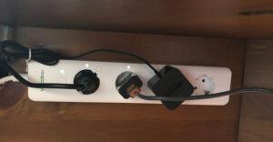Disabili DOC – VOCOlinc VP2, la multipresa è ora collocata al disotto del piano scrivania