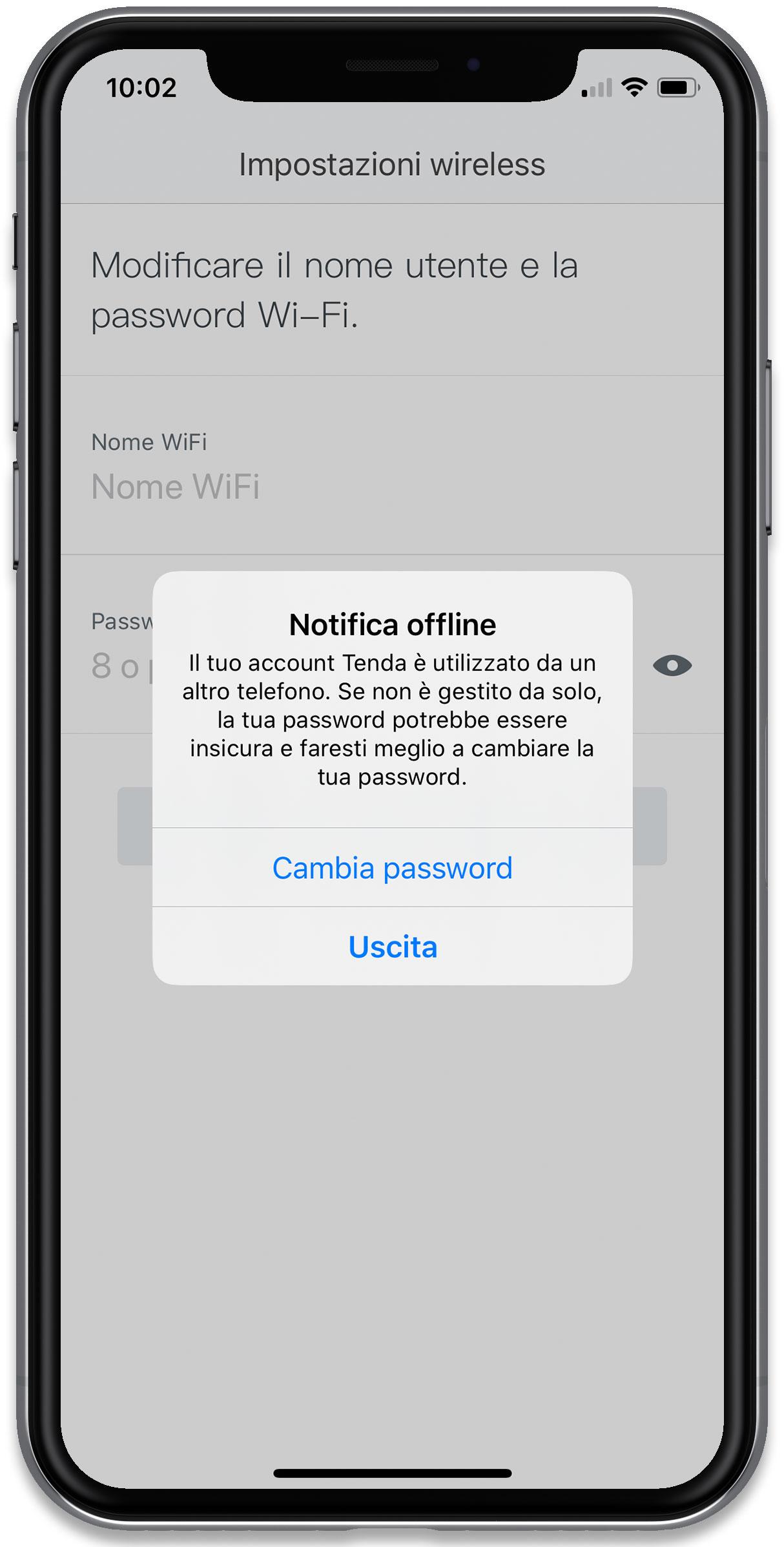 """Disabili DOC – """"Speciale Tenda Nova MW6"""" – Il sistema vi avvisa se il vostro account è in uso su più dispositivi, nel caso specifico lo era su un iPhone e un iPad"""