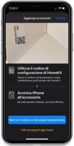 """Disabili DOC – """"Speciale VOCOlinc"""" VP3 e PM5 – L'immagine mostra la schermata dell'App VOCOlinc preposta a scassinare il QR Code mentre inquadra quello sulla confezione"""
