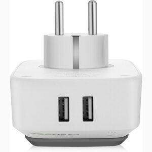 """Disabili DOC – """"Speciale VOCOlinc"""" VP3 e PM5 – L'immagine mostra le 2 prese USB A destinate alla ricarica dei vostri vari dispositivi come smartphone, tablet e..."""