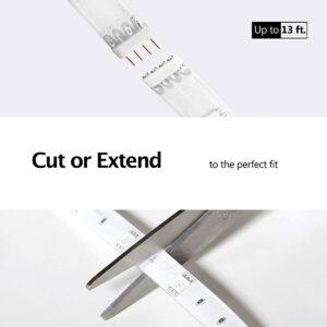 """Disabili DOC – """"Speciale VOCOlinc"""" luci smart – La striscia LED la potete accorciare o prolungare tramite l'apposita estensione"""
