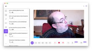 """Disabili DOC – """"Speciale Logitech StreamCam"""" – La schermata """"Logi Capture"""" mostra come si possano utilizzare molte scorciatoie da tastiera"""