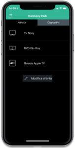 """Disabili DOC – """"Speciale Logitech Harmony Elite"""" – Su iPhone la App Harmony, home attività"""