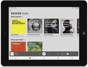 """Disabili DOC – """"Speciale Sonos Beam"""" – App Sonos, schermata Musica ➡︎ Radio"""