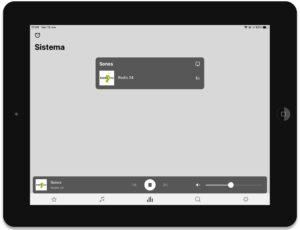 "Disabili DOC – ""Speciale Sonos Beam"" – App Sonos, schermata Sistema"