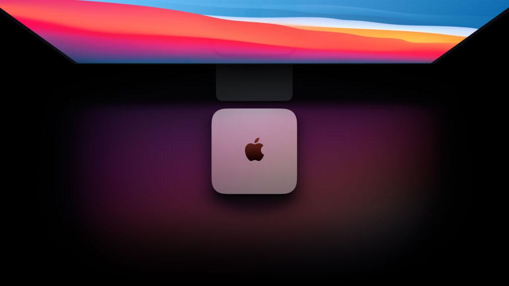 Disabili DOC – L'immagine mostra un setup nel quale è protagonista il nuovo Mac mini M1 del 2020