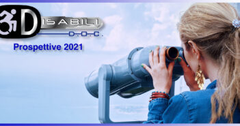 """Disabili DOC – Immagine di copertina di: """"Le prospettive per il 2021: consolidare i progetti attivi e creare partecipazione"""""""
