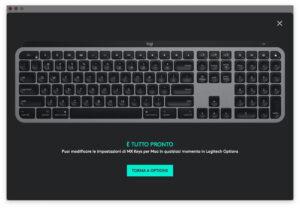 """Disabili DOC – """"Speciale Logitech MX Keys"""" – App Logi Options – Il tour è terminato, potete quindi organizzarvi al meglio le impostazioni della tastiera"""