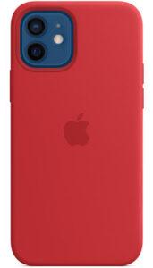Disabili DOC – L'immagine mostra la custodia MagSafe in silicone per iPhone 12 / 12 Pro - (PRODUCT)RED