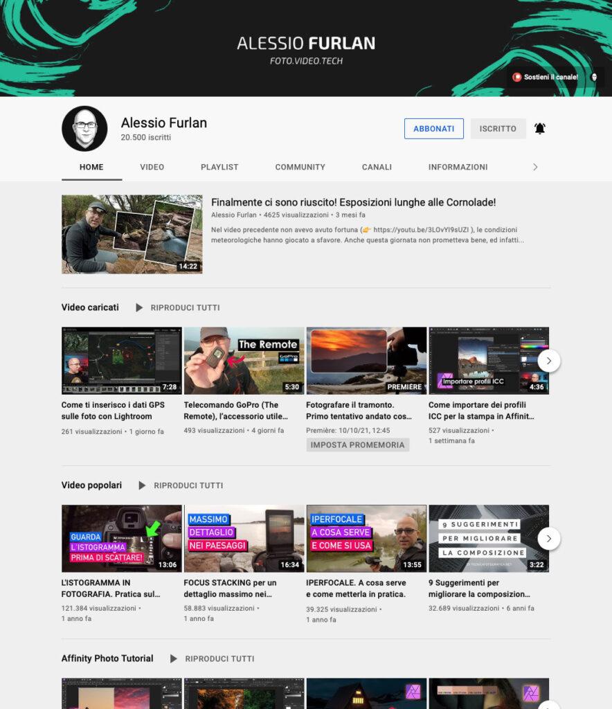 Disabili DOC – Canale YouTube di Alessio Furlan