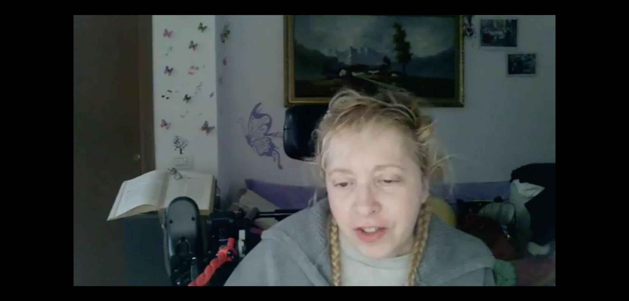 #Coronavirus:  le parole di Cristiana Di Stefano, Disabile, condivise su Facebook