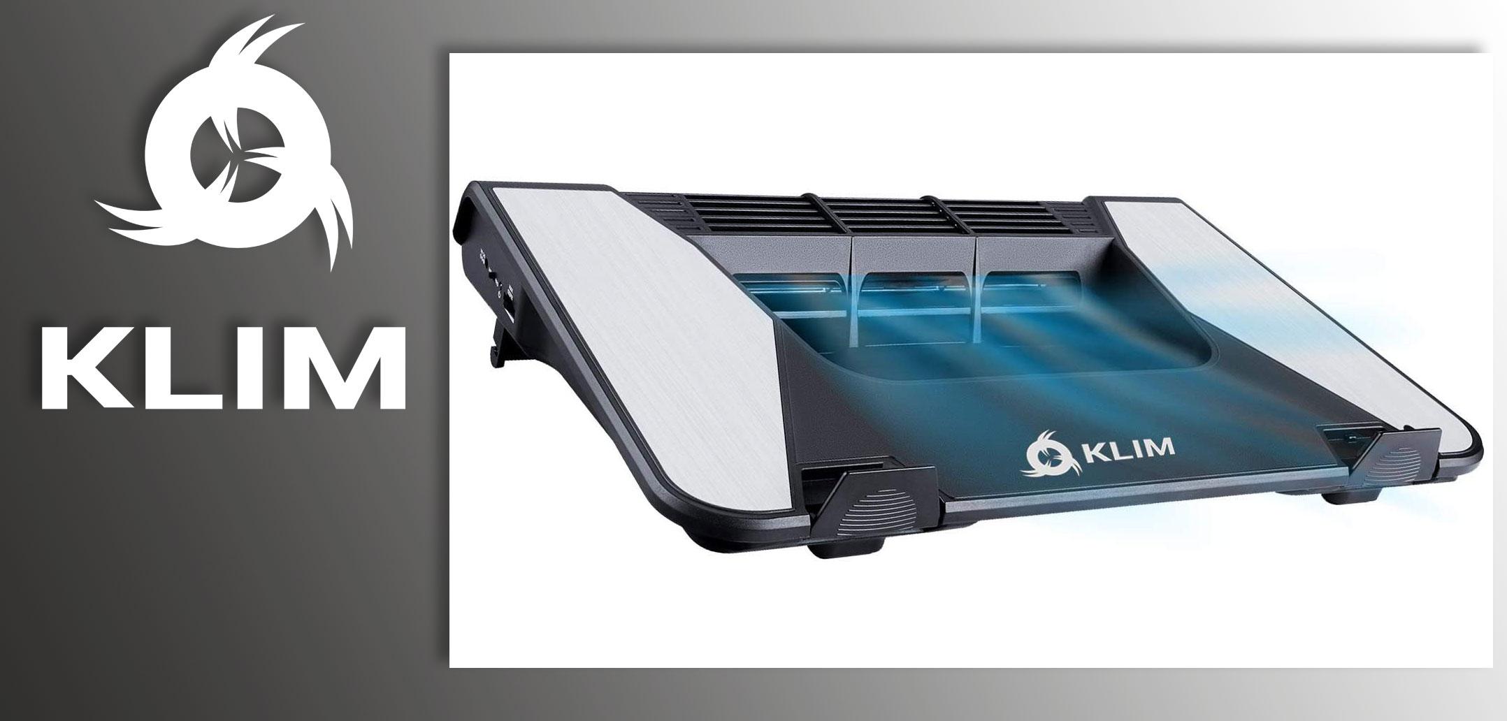 Tecnologia Amica / Per l'ufficio e la casa, KLIM Airflow raffreddatore a turbina per PC portatili