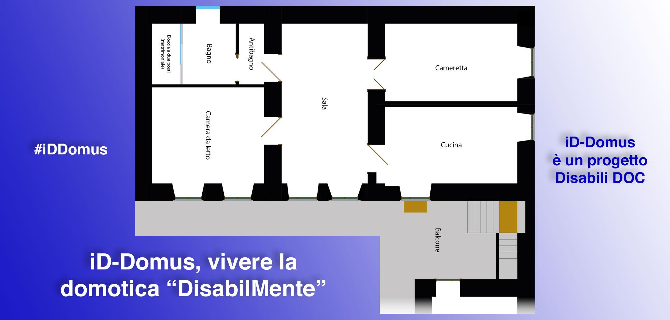 "#iDDomus / Parte 1ª / Premessa: vivere la domotica ""DisabilMente"""