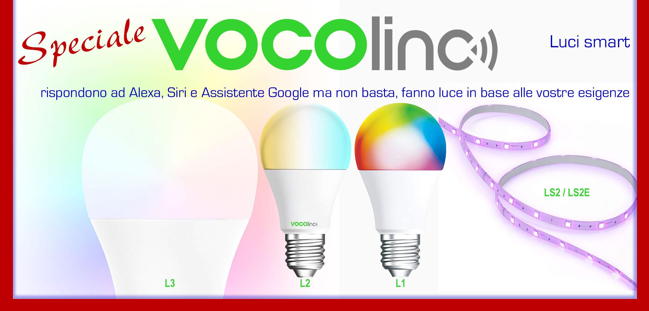 Tecnologia Amica / Lampadine e strisce LED smart VOCOlinc per autonomia, comodità e relax