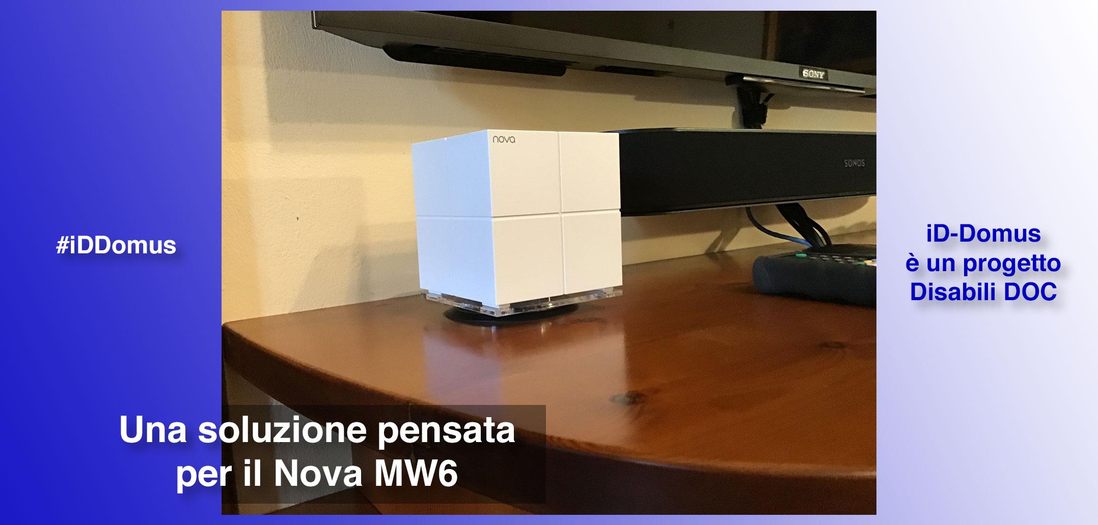 #iDDomus / Parte 5ª / Mobile TV parte 3ª, un supporto pensato per il Nova MW6