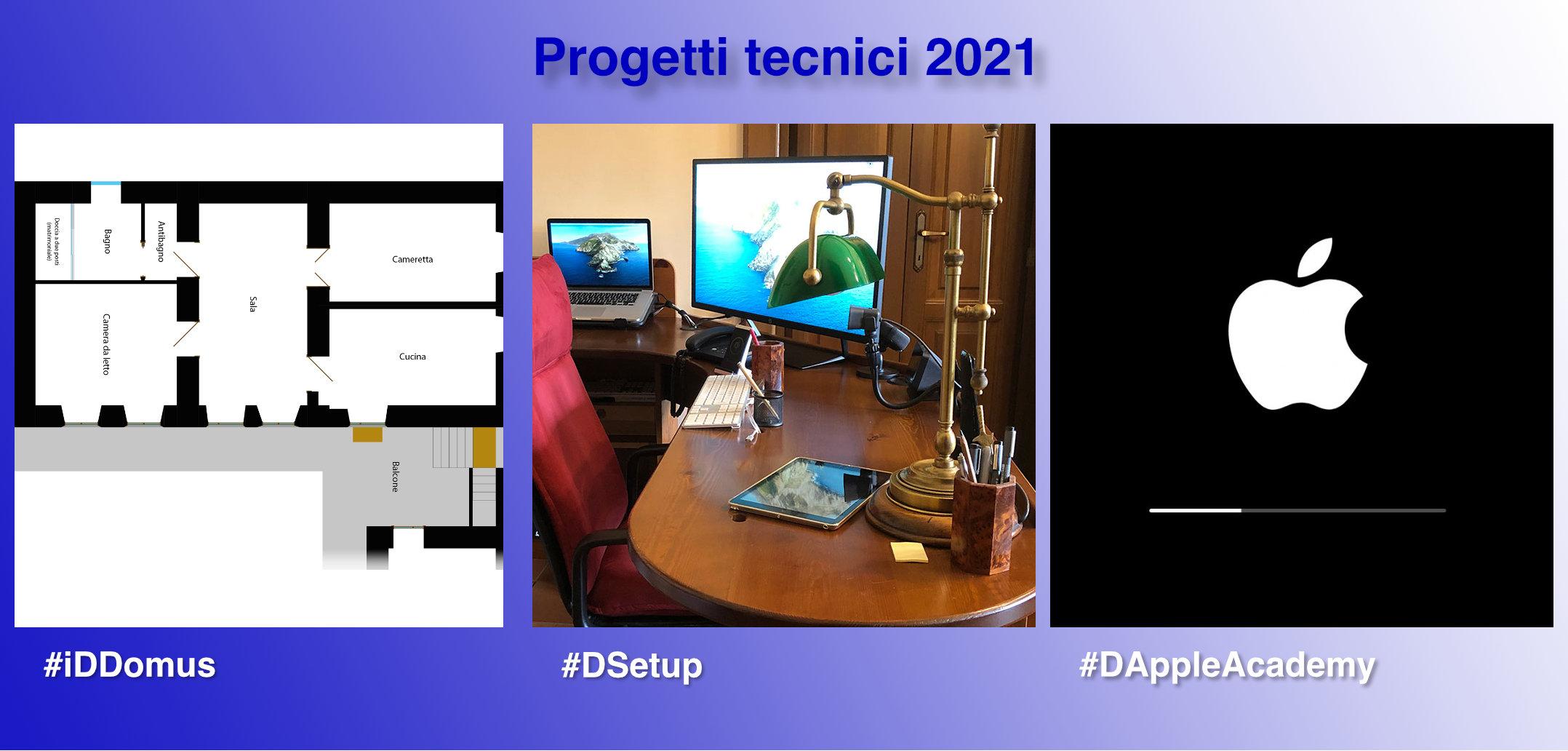 #DAppleAcademy: il giusto complemento per #iDDomus e #DSetup